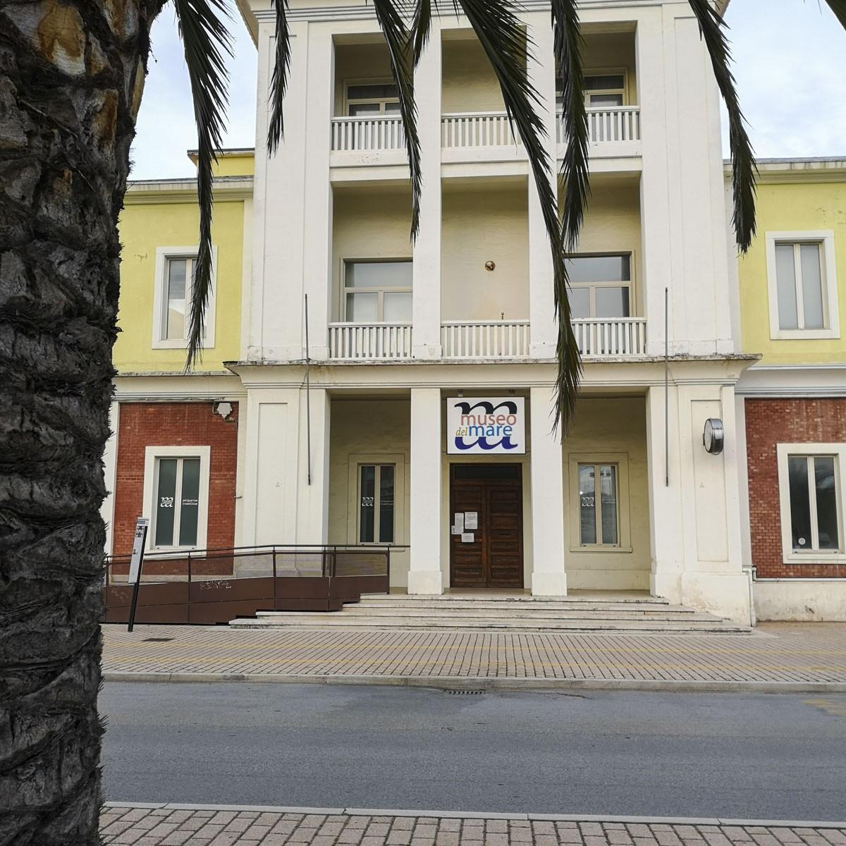 Museo del Mare di San Benedetto del Tronto- ingresso