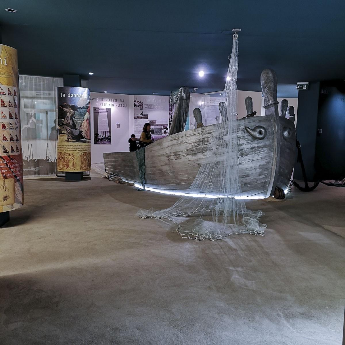 Museo del Mare di San Benedetto del Tronto- nave in legno