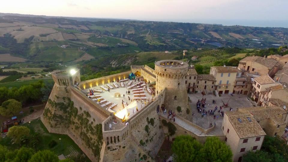 Fortezza Acquaviva Picena Panorama