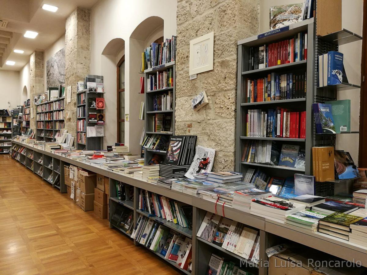 Libreria Rinascita scaffali