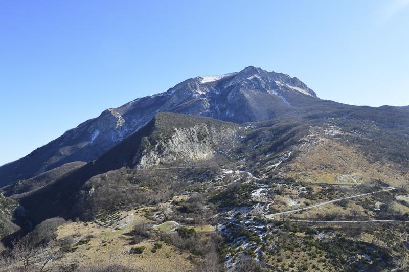 Castel Manfrino - panorama