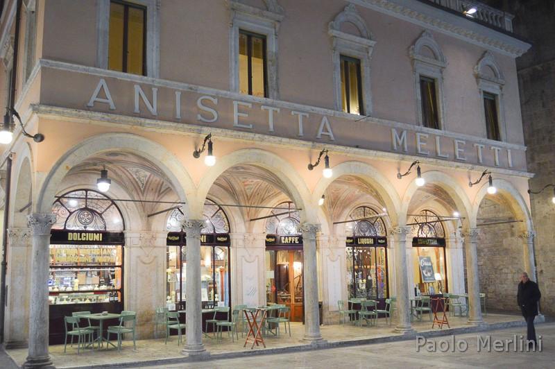 Caffè storico Meletti - esterno