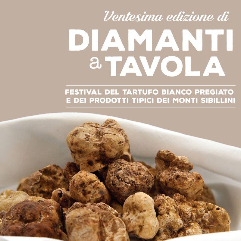 Diamanti a Tavola locandina ventesima edizione