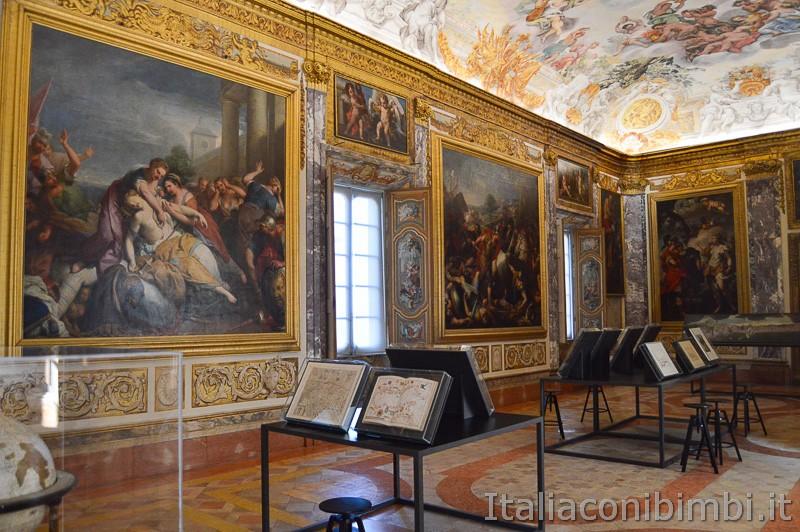 Macerata- Salone dell'Eneide di Palazzo Buonaccorsi